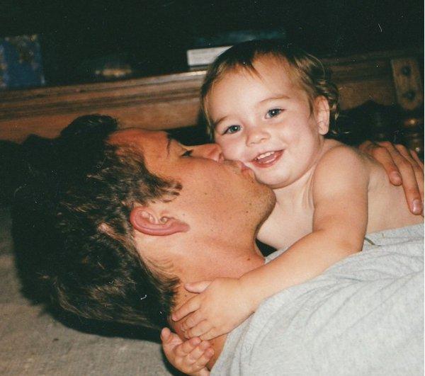 Meadow Walker junto a su padre, el actor Paul Walker (Foto Prensa Libre: Hemeroteca PL)