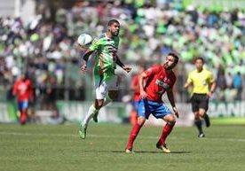 Antigua GFC y Municipal hicieron vibrar a los aficionados en el estadio Pensativo