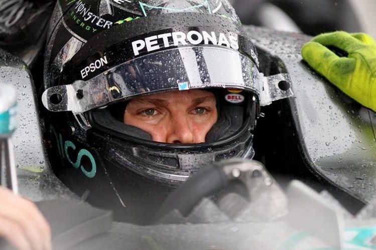 El piloto alemán Nico Rosberg fue el más rápido de los ensayos de Spielberg, previo al Gran Premio de Austria.(Foto Prensa Libre: AP)