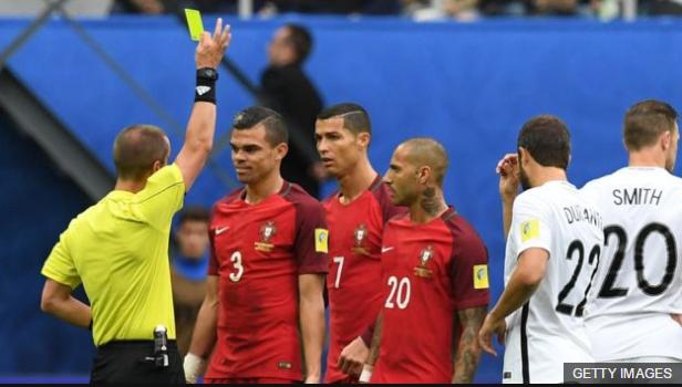Pepe se perderá el partido frente a Chile por acumulación de tarjetas amarillas.