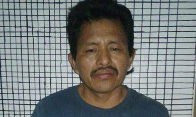 Marvin Rivera Vásquez fue aprehendido en Jocotán, Chiquimula, sindicado de haber matado a su hijo. (Foto Prensa Libre: PNC)