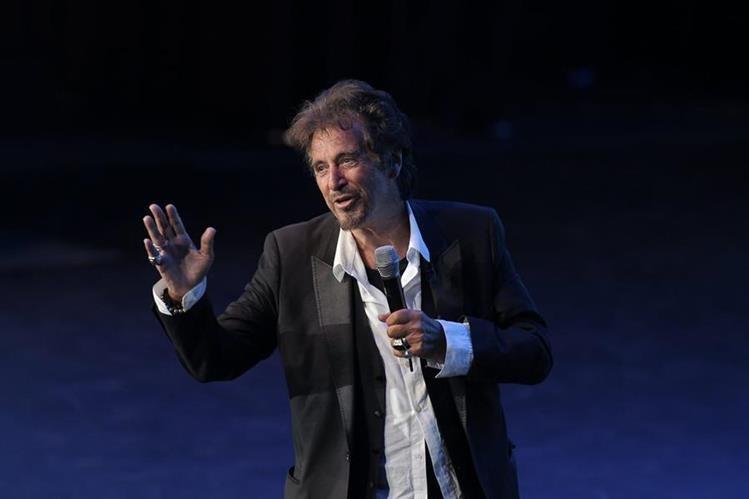 Al Pacino visitó México para hablar con jóvenes. (Foto Prensa Libre: EFE)