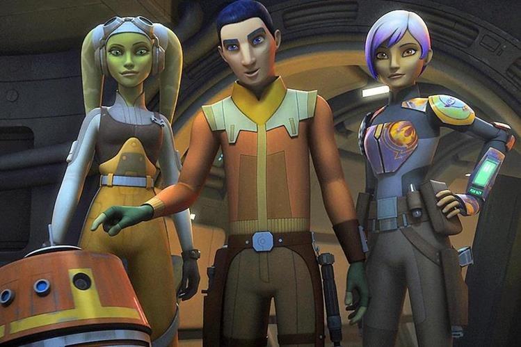 """El lunes pasado terminó la serie animada """"Star Wars Rebels"""". Luego de 4 temporadas, los creadores dieron un giro inesperado al final. (Foto Prensa Libre: Hobby Consolas)."""