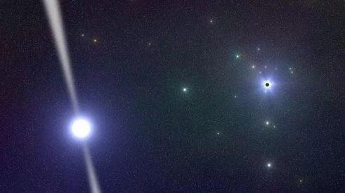 Los agujeros negros supermasivos que están en el centro de las galaxias son como motores cósmicos. (Foto: Internet).