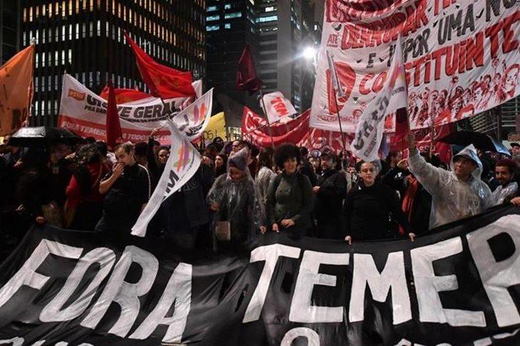 El gobierno de Michel Temer afronta descontento por casos de corrupción. (Foto: Hemeroteca PL)