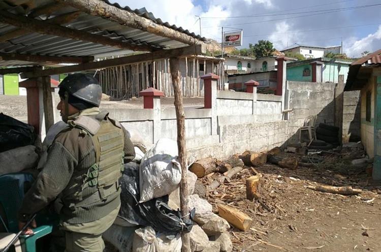 El lugar en conflicto está ubicado entre Ixchiguan y Tajumulco en San Marcos.