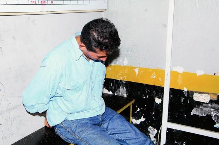 Edgar Rolando Pérez Moran de 48 años fue detenido y llevado a la comisaria 34.