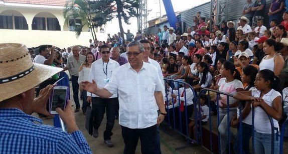El vicepresidente habló del tema en la inauguración de La Unión, Zacapa. (Foto Prensa Libre: Hemeroteca PL)