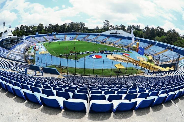 El Estadio Mateo Flores no podrá ser utilizado para eventos políticos. (Foto Prensa Libre: Hemeroteca PL)