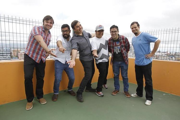 La banda guatemalteca debutó con el disco Paquetecuetes. (Foto Prensa Libre: Keneth Cruz)