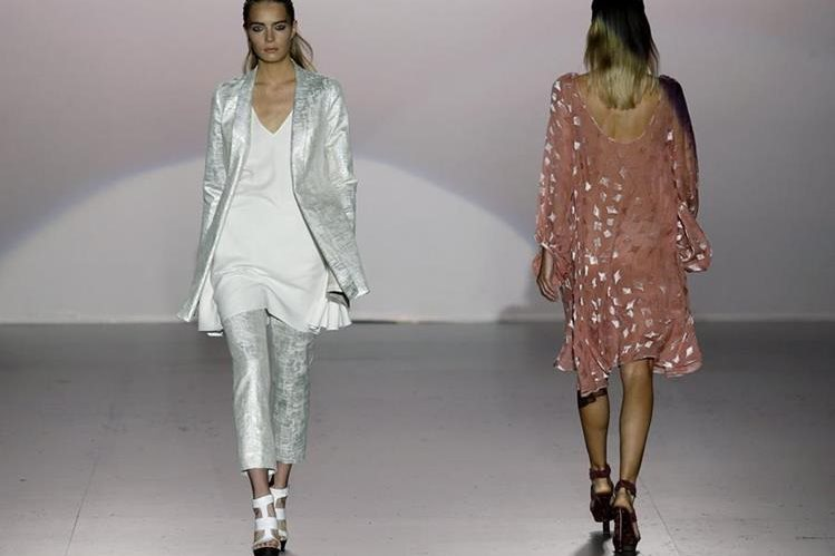 El glamur y la belleza dsfilaron en el Madrid Fashion Week. (Foto Prensa Libre: EFE)