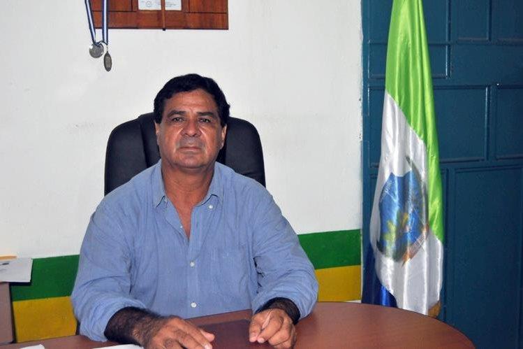 Aroldo Cordero, alcalde de La Blanca, San Marcos, es señalado de tres delitos. (Foto Prensa Libre: Alexánder Coyoy)