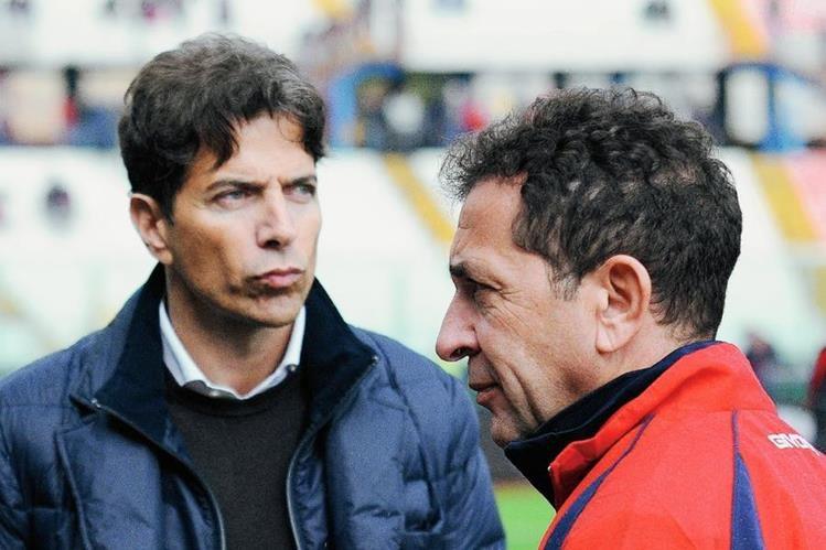 Nino Pulvirenti y Pablo Cosentino fueron arrestados por el arreglo de partidos. (Foto Prensa Libre: AFP)