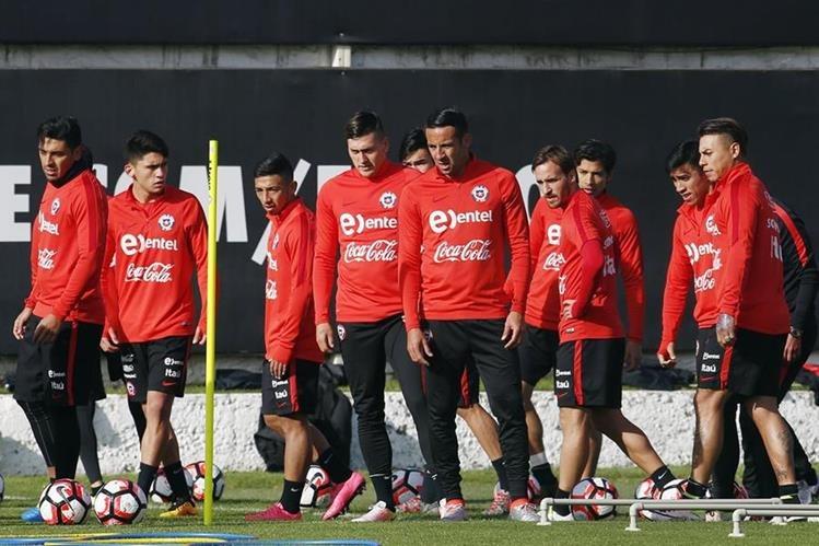 La Selección de Chile viajó a Estados Unidos para enfrentar la Copa América y defender el título. (Foto Prensa Libre: Hemeroteca)