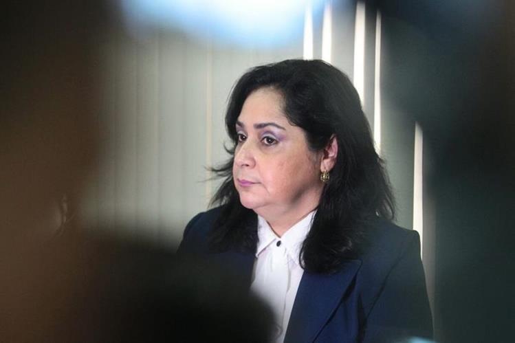 La juzgadora pidió excluir a la Cicig del proceso que se sigue en su contra. (Foto Prensa Libre: Hemeroteca PL)