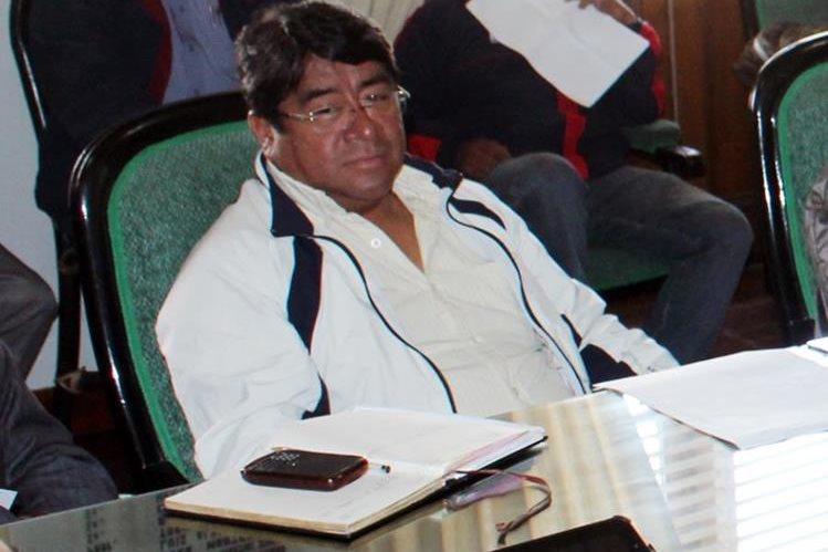 El exconcejal Marco Antonio Quijivix falleció este miércoles por enfermedad. (Foto Prensa Libre: Carlos Ventura)