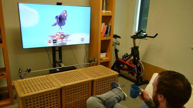Matchpoint no rastrea objetos sino movimientos. (Foto: Universidad de Lancaster)