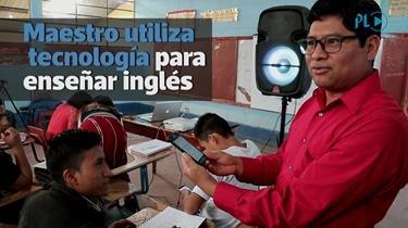 Maestro de inglés revoluciona la enseñanza en Quiché