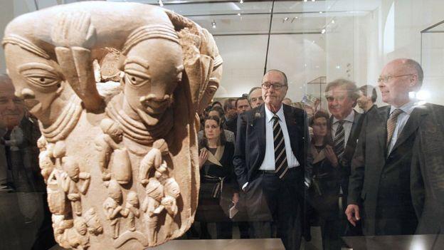 El Museo del muelle Branly - Jacques Chirac tiene una gran colección de piezas de origen africano. GETTY IMAGES