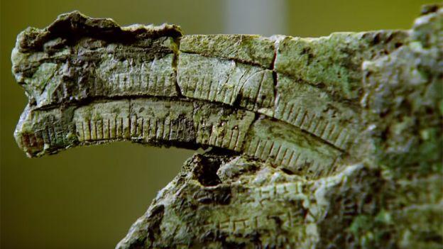 Al principio, el artefacto no le decía nada a los científicos, pero luego notaron que tenía marcas e inscripciones.