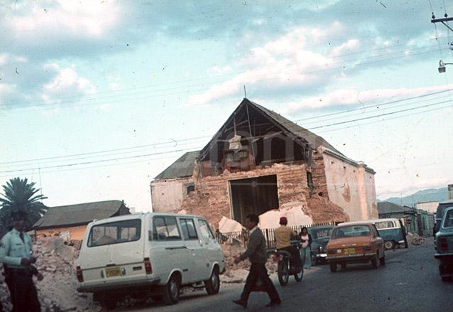 El Terremoto del 4 de febrero de 1976 destruyó muchas construcciones que sobrevivieron a los terremotos de principio de siglo. (Foto: Hemeroteca PL)