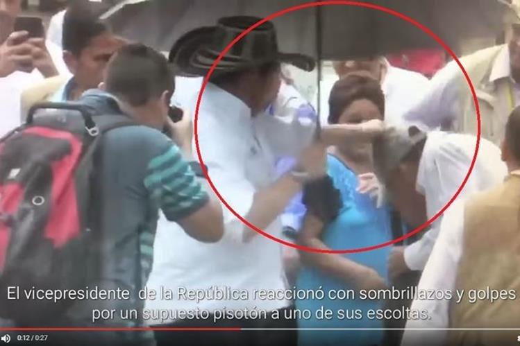 (Captura de pantalla del vido publicado en Youtube/La antiopinion Colombia).