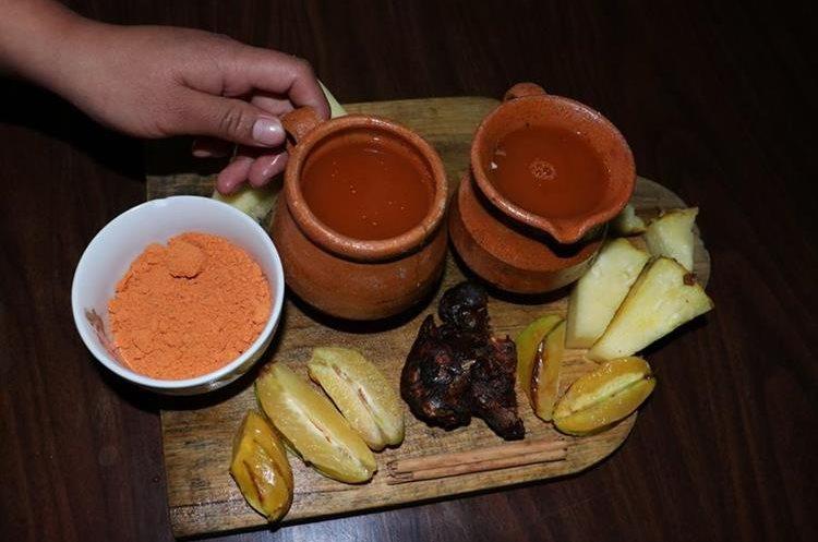 El batido es una bebida tradicional de la temporada de fin de año en Chimaltenango. (Foto Prensa Libre: Víctor Chamalé)
