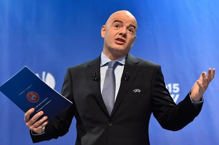 El secretario general de la Uefa, Gianni Infantino se une a la pelea por la presidencia de la Fifa. (Foto Prensa Libre: Hemeroteca PL)