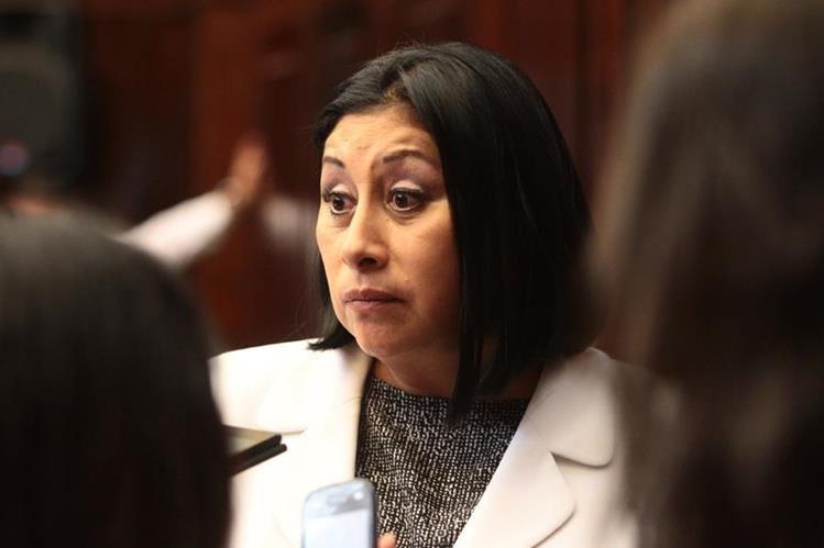 """""""Delia Bac, es Delia Bac en cualquier punto de Guatemala"""", señaló la legisladora quien dijo que aún no había sido notificada sobre la resolución de la CC. (Foto Prensa Libre: Hemeroteca PL)"""