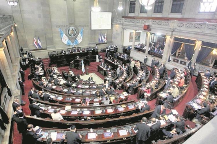 Fuerzas políticas en el Congreso se reacomodan luego de las elecciones. (Foto Prensa Libre: Hemeroteca PL)
