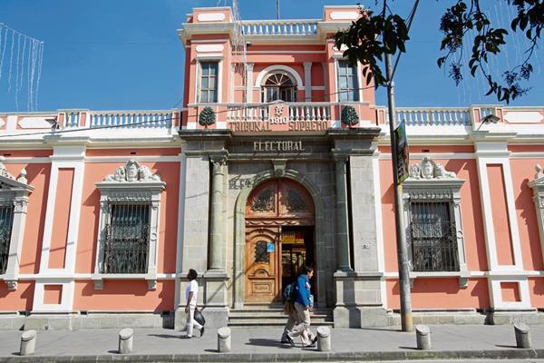El Tribunal Supremo Electoral ha impuesto 73 sanciones a partidos políticos. FOTO Prensa Libre: Alvaro Interiano.