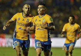 Tigres sentenció su pase a la final del futbol mexicano. (Foto Prensa Libre: AFP)