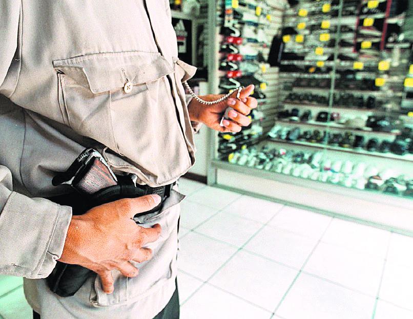 Trece empresas de seguridad privada han sido multadas por diferentes falta. (Foto Prensa Libre: Hemeroteca PL)