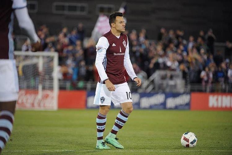 Marco Pappa se enfrentará contra su exequipo esta noche en la final de ida de la conferencia del oeste de la MLS. (Foto Prensa Libre: Hemeroteca)