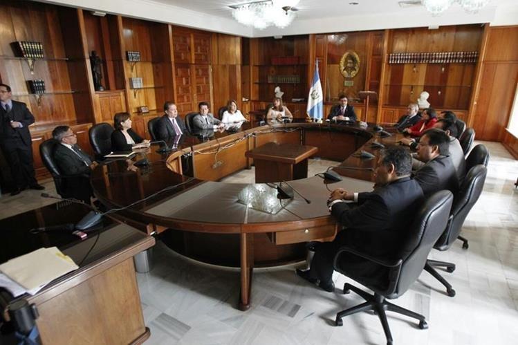 La CSJ remitió por unanimidad el expediente de Rivera al Juzgado Séptimo Penal. (Foto Prensa Libre: Paulo Raquec)