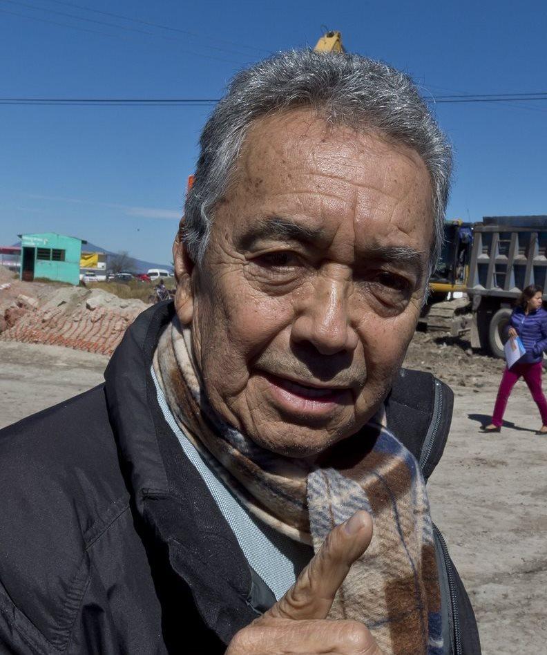 Luis Gonzalez Meza se presenta como abogado del Chapo Guzmán. (Foto Prensa Libre: AFP).