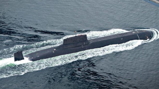 Estados Unidos y Rusia luchan también por el control de los mares. GETTY IMAGES