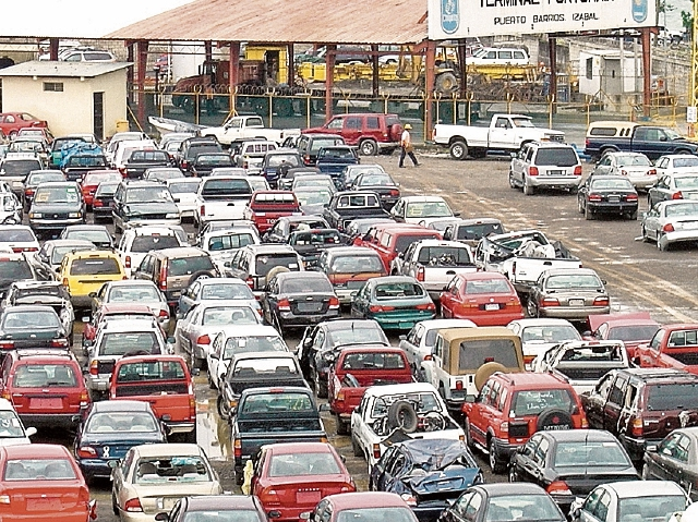 Modernizar las aduanas es uno de los desafíos del país para mejorar las relaciones comerciales con Estados Unidos. (Foto Prensa Libre: Hemeroteca PL)