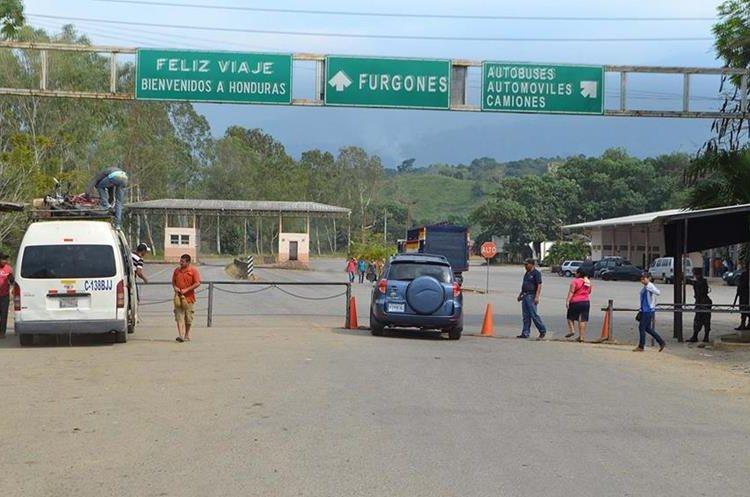 La unión aduanera podría aumentar en 2.4 por ciento anual el intercambio comercial entre Guatemala y Honduras. (Foto Prensa Libre: Dony Stewart)