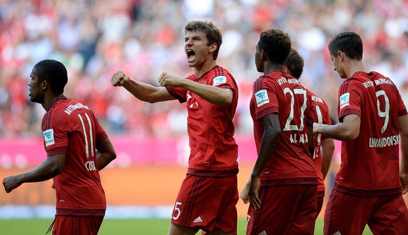 El Bayern logró una victoria agónica este sábado. (Foto Prensa Libre: AFP)
