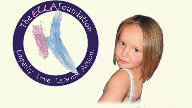 ELLA no sólo es el nombre de su hija sino también las siglas en inglés de empatía, amor, lecciones y acción (Empathy, Love, Lessons, Action).