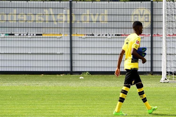 Ousmane Dembele dejará el Borussia Dortmund. (Foto Prensa Libre: AFP)