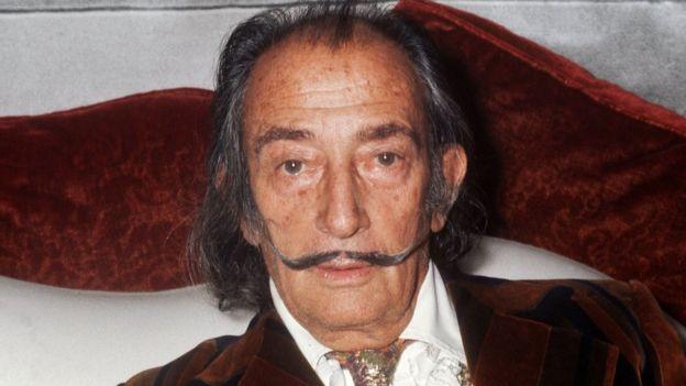 Dalí murió en España en 1989 y con su esposa no tuvo hijos. AFP