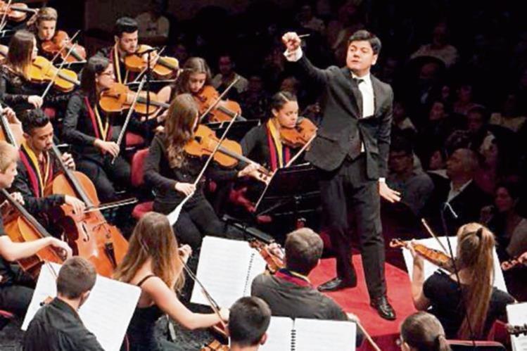 El talento de Bruno Campo destaca en orquestas de Europa. (Foto Prensa Libre: Hemeroteca PL)