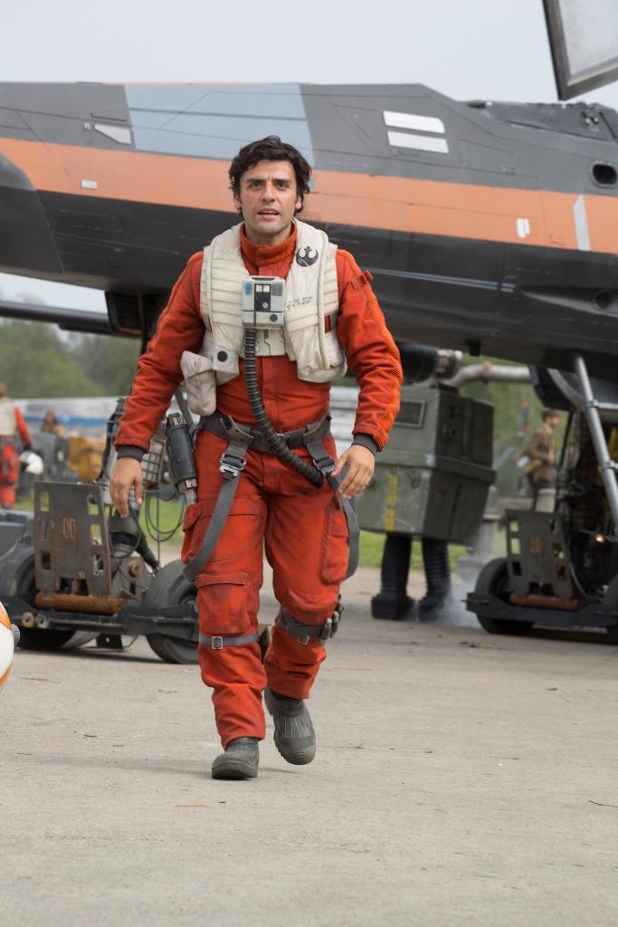 Óscar Isaac le da vida a Poe Dameron en Star Wars: El despertar de la fuerza. (Foto Prensa Libre: AP)