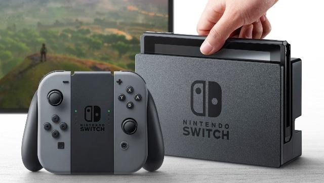 Consola Nintendo Switch, saldrá en marzo. (Foto Prensa Libre: AP)