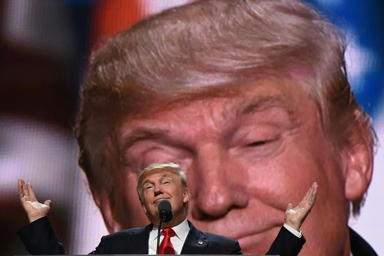 El gran dilema que presenta la futura Administración de Trump, es si su discurso electoralista se va a quedar en eso o pasará a la realidad. (Foto Prensa Libre. AFP)