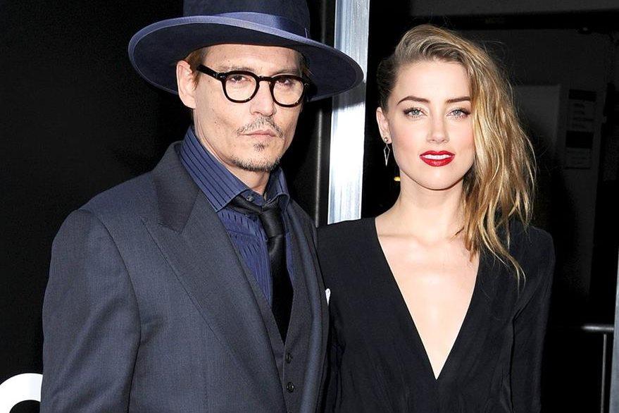 Johnny Depp y Amber Heard estuvieron casados por 15 meses. (Foto Prensa Libre: Hemeroteca PL)