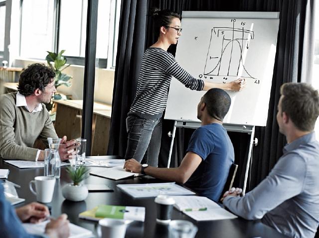 un buen  equipo de trabajo es la clave para el éxito de un nuevo negocio.