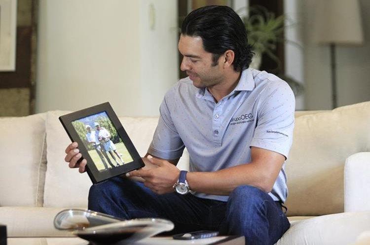 El golfista guatemalteco José Toledo recuerda que comenzó en el deporte a los 9 años. (Foto Prensa Libre: Carlos Hernández)